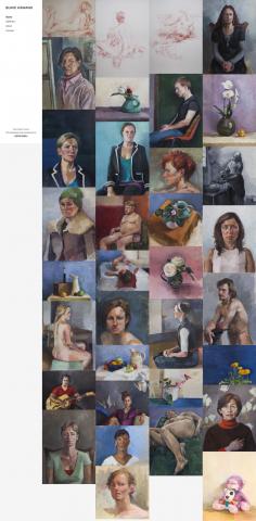 Bukie Kawano – Artist & Painter Website Design