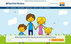 Parental Review – Website Design