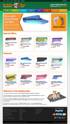 The Bedding Box – Website Redesign