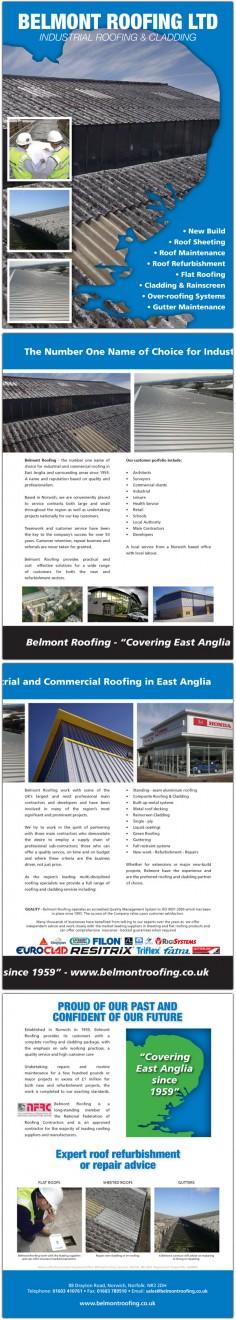 Belmont Roofing – Corporate Brochure