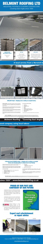 Belmont Roofing – Corporate Brochure Redesign