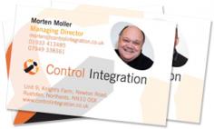 Control Integration Ltd – Business Cards