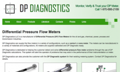 DP Diagnostics – Website Redesign