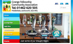 Grange Fellowship Community Association – Website Design