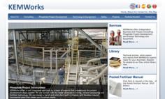 Kemworks – Website Redesign