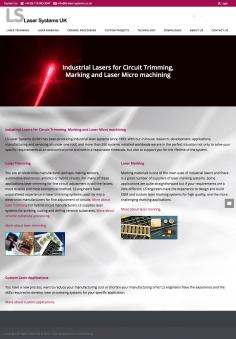 LS Laser System – Website Design