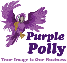 Purple Polly – Logo Design