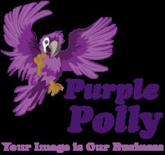 Purple Polly – Logo Design