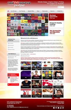 redHotsource – Website Redesign