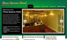 Three Queens Hotel – Website Redesign