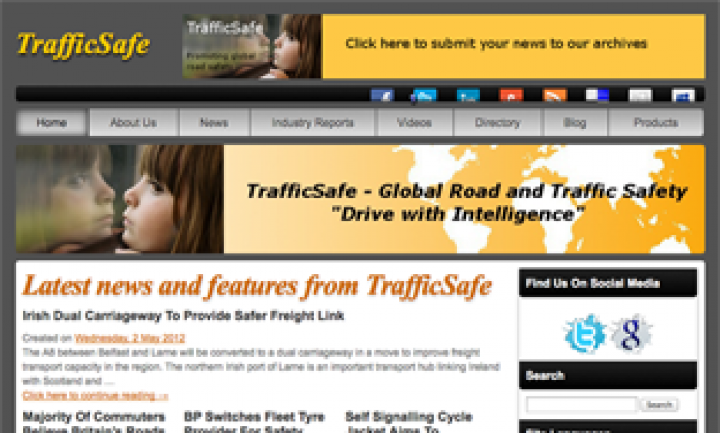 TrafficSafe – Website Design